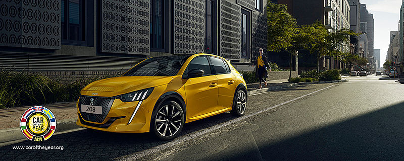"Der neue PEUGEOT 208 ist ""Car of the Year 2020""*"